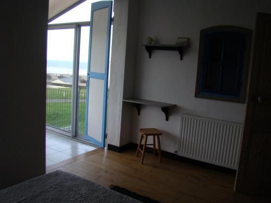 accés chambre véranda
